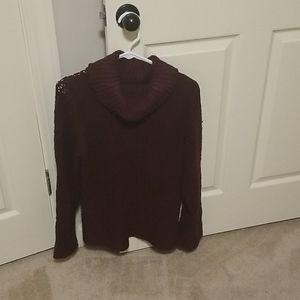 Burgundy Liz Claiborne Sweater
